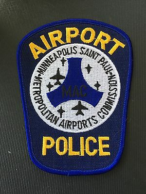 Minneapolis Minnesota   Airport Police  Shoulder Patch