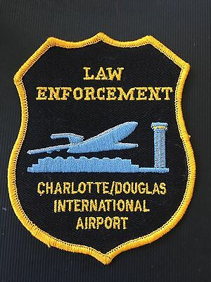 Charlotte International  North Carolina Airport  Police  Shoulder Patch