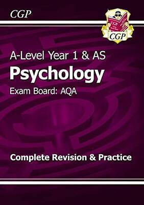 A-Level Psychology: AQA Year 1 & AS Complete Revision & Practice... by CGP Books