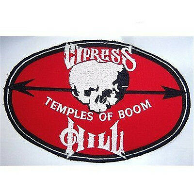 Cypress Hill Temples Of Boom Skull Oval Patch Free Ship