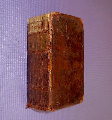 Rare 1770 HOLY BIBLE OLD NEW TESTAMENTS Martin Luthier +1742 Augsburg Confession