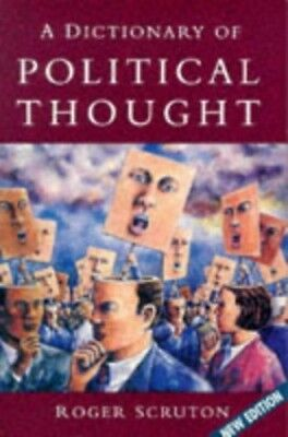 A Dictionary of Political Thought Paperback Book The Cheap Fast Free Post