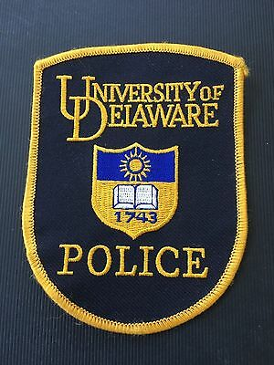 University Of Delaware  Police  Shoulder  Patch