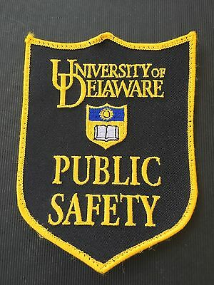 University Of Delaware  Public Safety  Shoulder  Patch