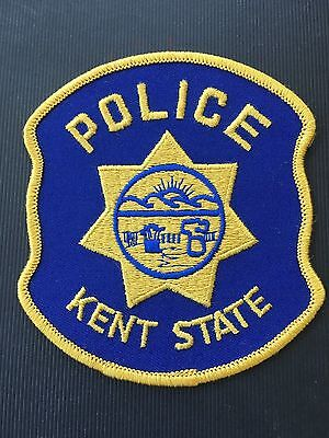 Kent State Ohio Police   Shoulder Patch