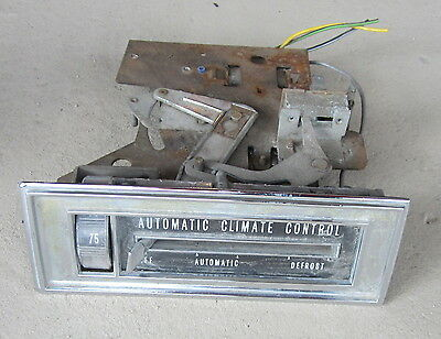1966 Cadillac Air Conditioning A/C HVAC Automatic Climate Control Switch Unit 66