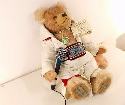 Hermann ours Bear the wild sixties nounours peluche 42 cm neuf edition limited