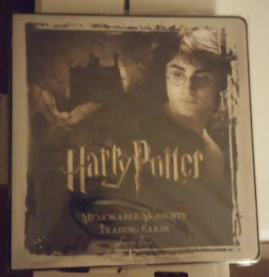 Binder Only Harry Potter Memorable Moments Series 2 Trio Back Cover MM