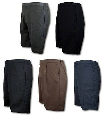 School Uniform Short Trousers / Shorts - David Luke - Grey Navy Black Brown