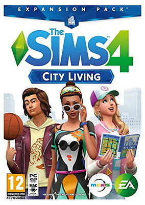 The Sims 4: City Living Expansion Pack (PC)
