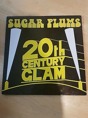 """sugar plums 20th century glam UK only private press 12"""" sweet t.rex arrows elton"""