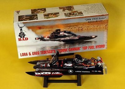"""Bad Ass """" Loose Cannon """" THF Drag Boat. Extreme Detail. Discontinued."""