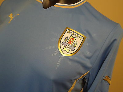 Uruguay Official Licensed Home Jersey 2014 Adults Mens Small New