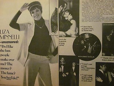Liza Minnelli, Five Page Vintage Clipping