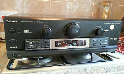 TECHNICS SA-DX950 dts dolby digital surround receiver amplifier.