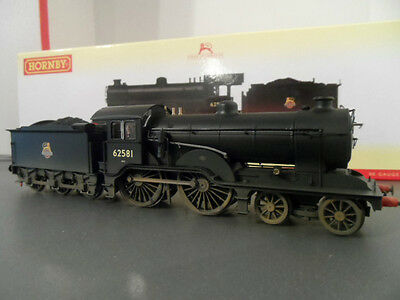 hornby r3303 early BR 4-4-0 class d16/3 loco 62581 weathered dcc ready very good