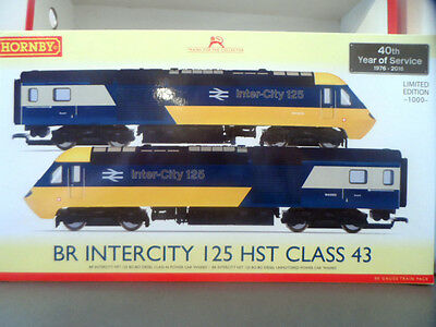 hornby r3403 class 43 br inter-city125 hst anniversary pack limited edition bnib