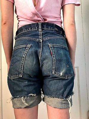 50's/60's Vintage Levi's Jeans Cut Offs Perfect Patina 29 W.big E
