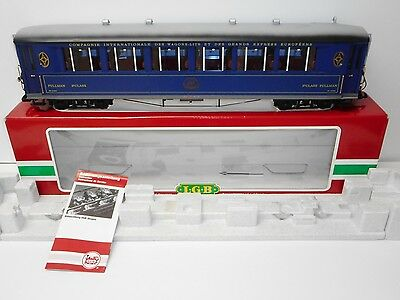 LGB 31655 Orient Express Pullman 1st Class Salon Passenger Car w/Lights G Scale