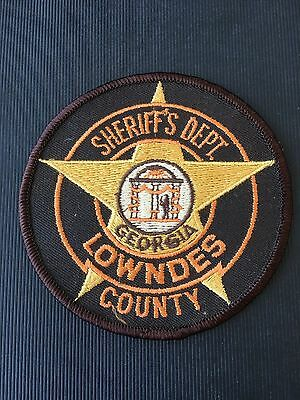 Lowndes County Georgia  Sheriff  Shoulder Patch