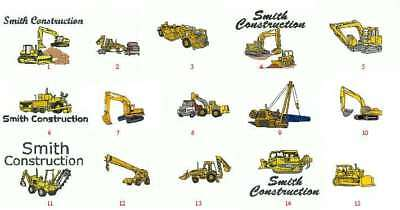 12 Heavyweight TShirts Embroidered W Caterpillar 4ur Construction Company