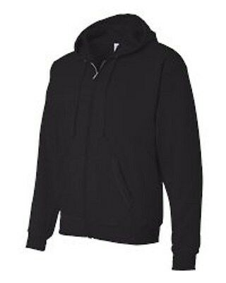 4 New Zippered Sweatshirts S-XL Embroidered Free4Ur Business