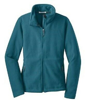 4 Ladies Fleece FullZip Jackets Embroidered4Ur Company W BackDesign &Front logo