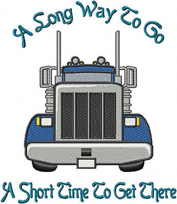 """2 Classic Jackets 4XL-5XL Embroidered Free4Ur Trucking Company """"Long way to go"""""""