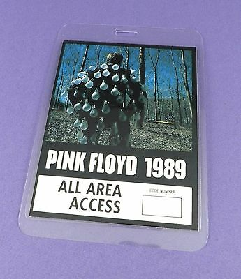 Pink Floyd Original Backstage Pass - Another Lapse European Tour 1989 - Unused!