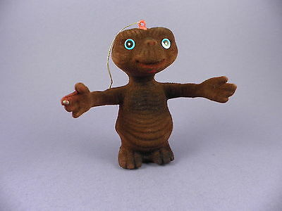 Vintage E.T. Flocked Toy - Unused c1980s Stock !