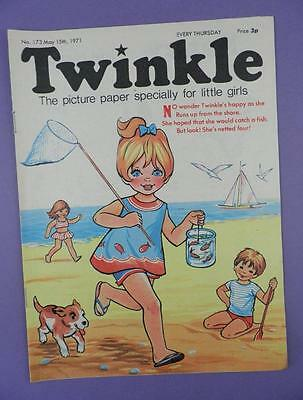 Twinkle Comic, Picture Paper For Little Girls #173 May 15th 1971