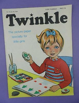 Twinkle Comic, Picture Paper For Little Girls #76, July 5th 1969