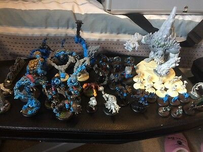 Warmachine Hordes Trollblood Trollkin Army Well Painted