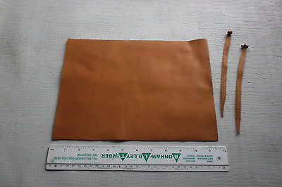 MID-TAN ENGLISH  LEATHER  FOR FALCONRY JESSES 1.2 mm