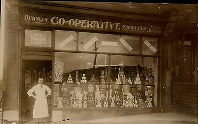 Burnley Co-Operative Society No.44 Branch Shop Front by Rapide Photo Co.