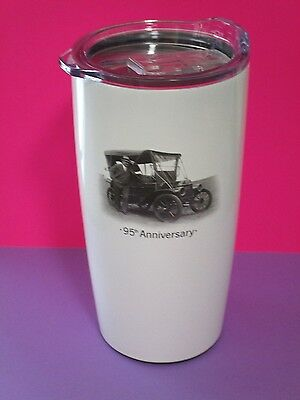 "NEW "" Vintage Car "" State Farm Stainless Travel mug  20oz. similar to Yeti cup"