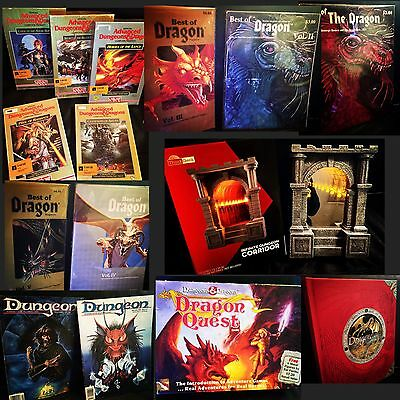 Dungeon & Dragons Lot (Think Geek Tsr Gygax)