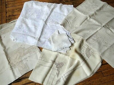 Estate Linens-Four Tablecloths