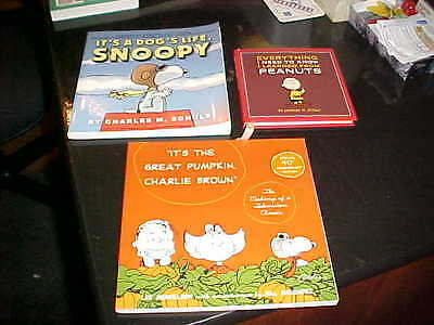 CHARLIE BROWN BOOKS New Condition CHARLES SCHULZ Pumpkin SNOOPY Tv Special NOS