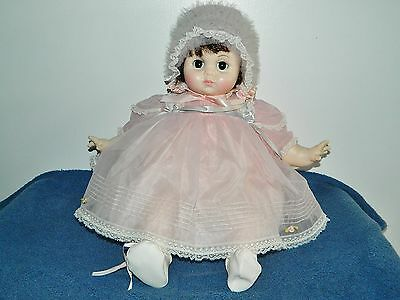 "19"" Madame Alexander Mary Mine Brunette Baby Doll Beautiful"