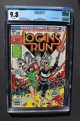 LOGAN'S RUN #1 Marvel 1977 Movie Adaption GEORGE PEREZ Gosling Reboot? CGC 9.8