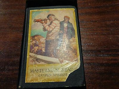 Antique book 1928 MASTERMAN READY by Captain Marryat illustrated John Rae