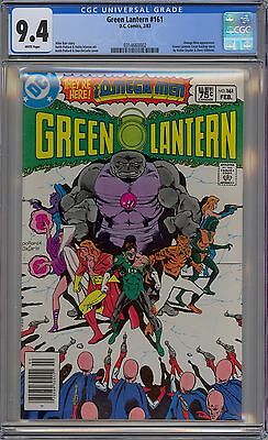 Green Lantern #161 CGC 9.4 NM Wp Early Omega Men Appearance DC Comics 1983