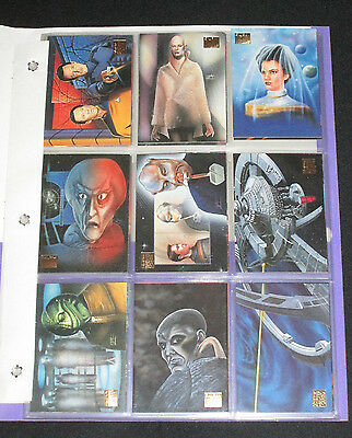 31 Different 1994 Skybox Master Series Collectible Star Trek Trading Cards