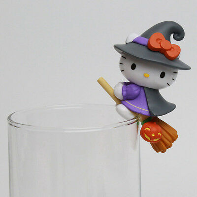 Toy Friend Sanrio Hello Kitty Funny Show Halloween Cup edge Series Witch Figure