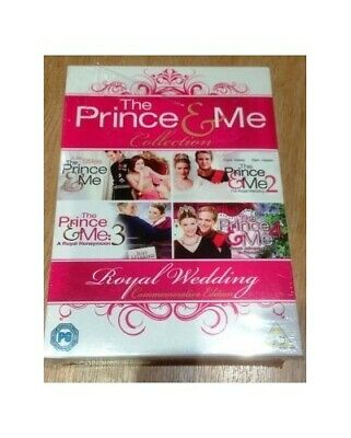 Prince And Me 1-4 Collection [DVD] Brand New Region 2 - DVD  GIVG The Cheap Fast