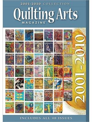 NEW! Quilting Arts Magazine 2001-2010 Collection [CD]