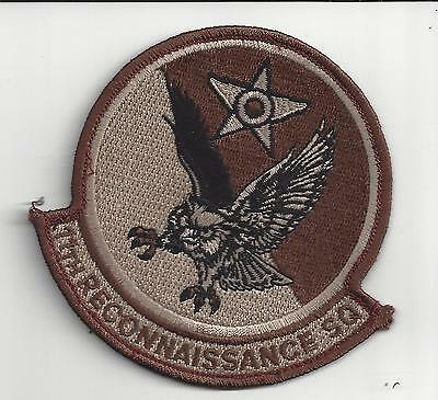 PATCH USAF 11th  RECONNAISSANCE SQ RS
