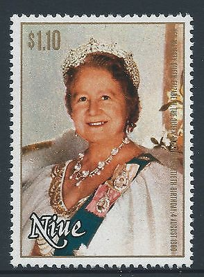 1980 NIUE QUEEN MOTHER 80th BIRTHDAY $1.10 STAMP FINE MINT MUH/MNH
