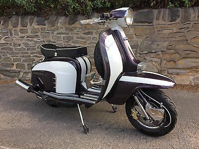 Lambretta Li 150 italian   scoote with upgrades